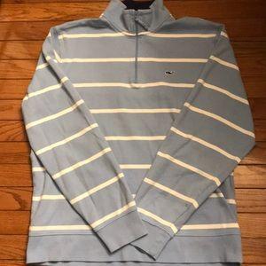 Vineyard Vines Men's 1/4 Zip Sweater, Size M